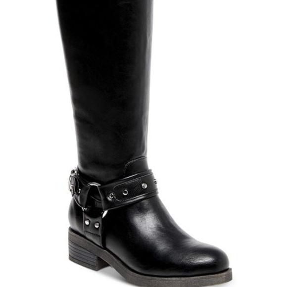 2e1066cc128 Madden Girl Mckenzie Riding Boots
